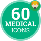 Doctor Medical Health Care Icons - Flat Animated Icons and Elements