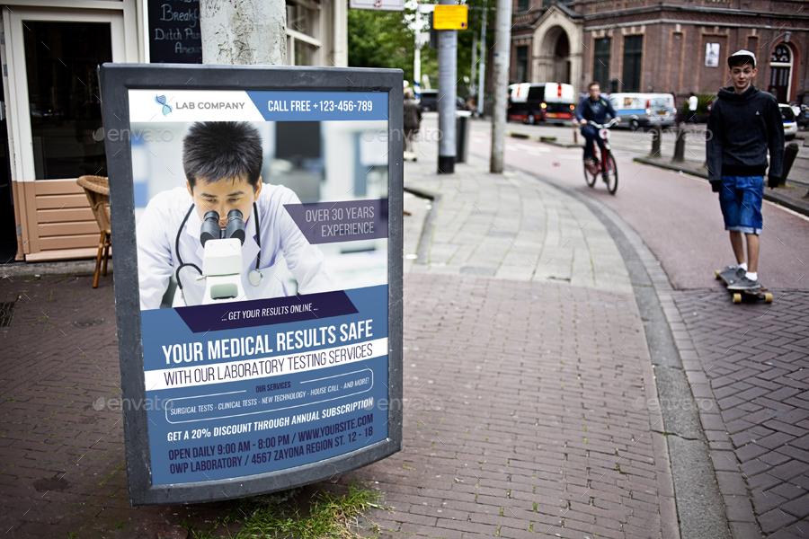 Medical Laboratory Advertising Bundle