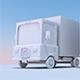 Truck style cartoon