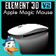 Apple Magic Mouse for Element 3D - 3DOcean Item for Sale