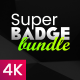 Super Badge Bundle - VideoHive Item for Sale