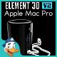 Apple Mac Pro for Element 3D - 3DOcean Item for Sale