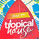 Summer Tropical House - GraphicRiver Item for Sale