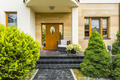 Stylish entrance to the modern house - PhotoDune Item for Sale