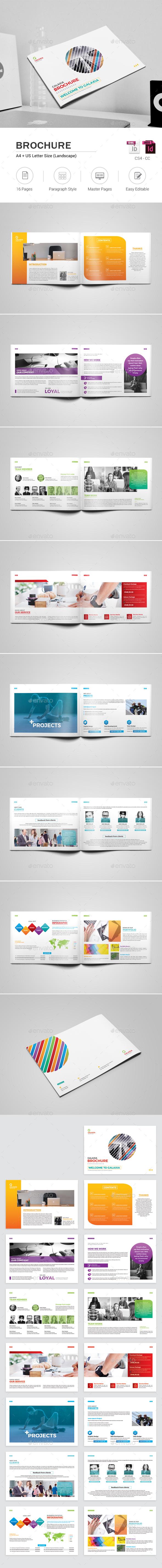 Colorful Brochure - Corporate Brochures