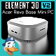 Acer Revo Base Mini PC for Element 3D - 3DOcean Item for Sale