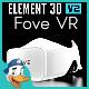Fove VR for Element 3D - 3DOcean Item for Sale