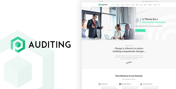 Auditing | Multi Purpose Auditing / Consultancy WordPress Theme