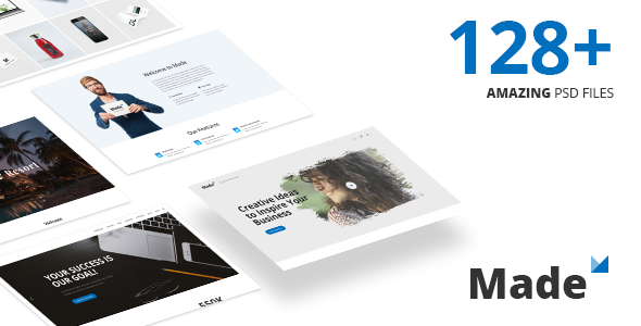 Made - Responsive Multi-Purpose PSD Template - Business Corporate