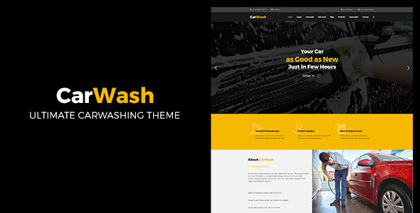 Car Wash | Auto Mechanic and Auto Care WordPress Theme