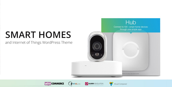 Smart Home – Internet of Things & Home Automation WordPress Theme