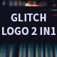 Glitch Logo 2 in 1 - VideoHive Item for Sale