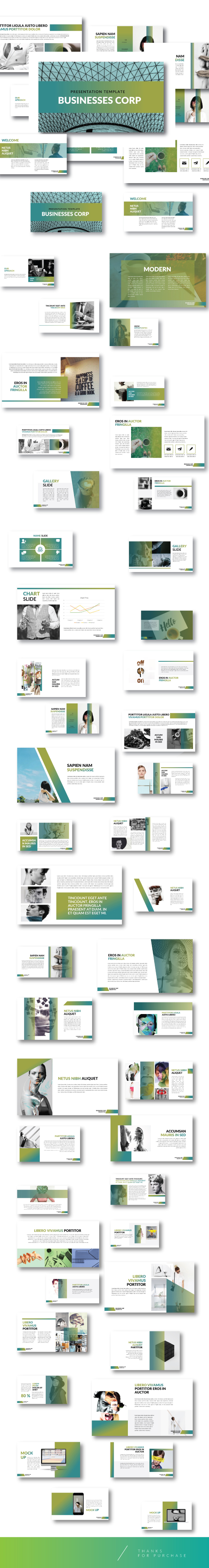The Bussiness - Creative PPTX template - Business PowerPoint Templates