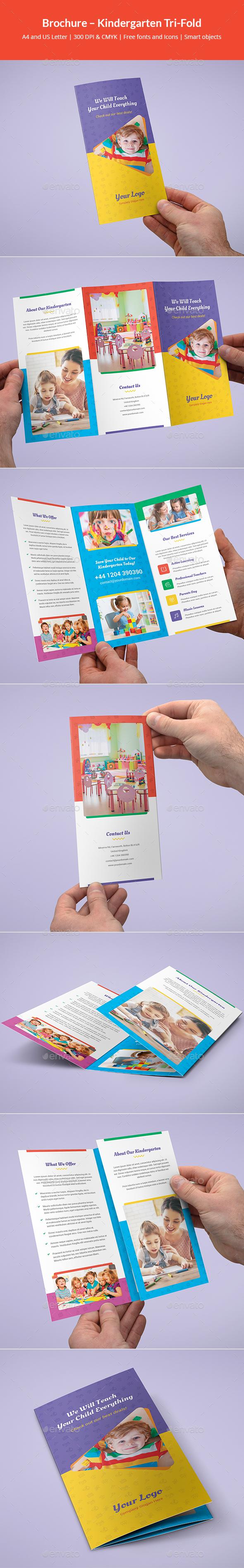Brochure – Kindergarten Tri-Fold - Informational Brochures