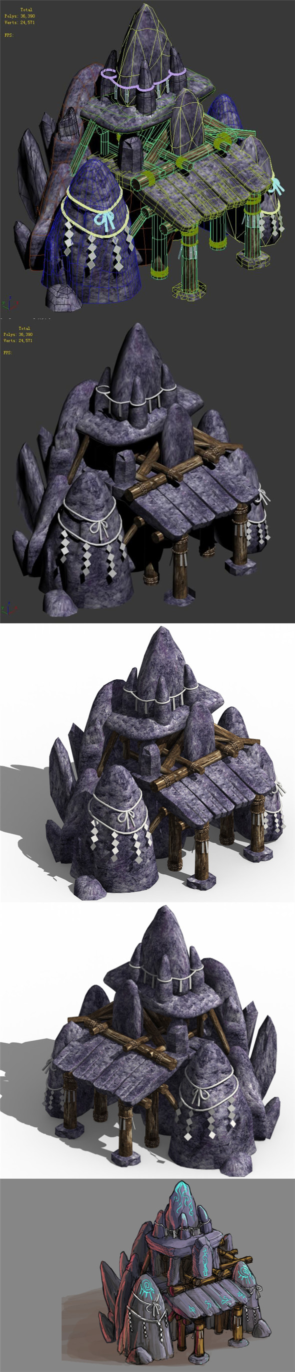 Good Temple - Lingyan Temple - 3DOcean Item for Sale