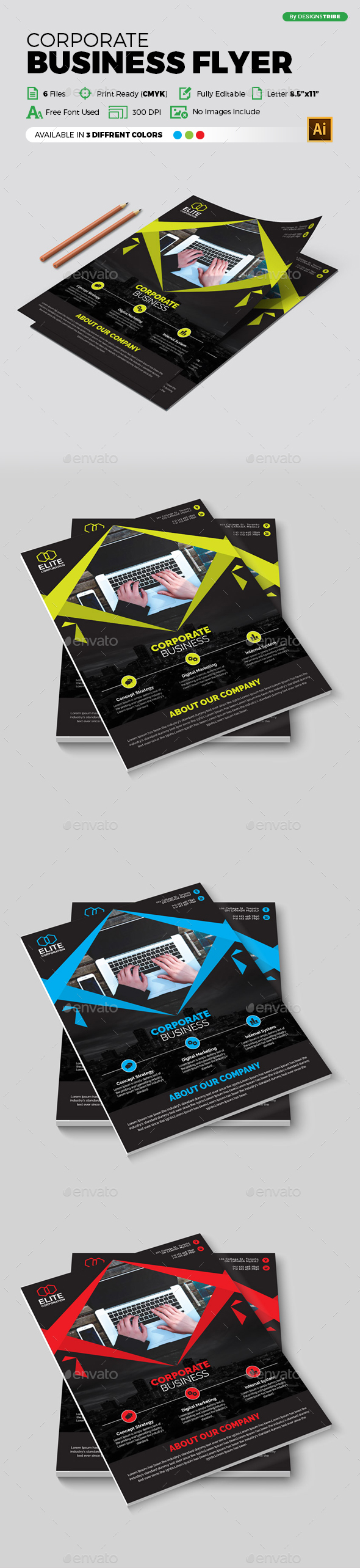 Flyer – Multipurpose 326 - Corporate Flyers