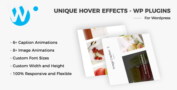Unique Hover Effects - WordPress Plugin - CodeCanyon Item for Sale