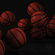 Animated Basketballs Background - VideoHive Item for Sale