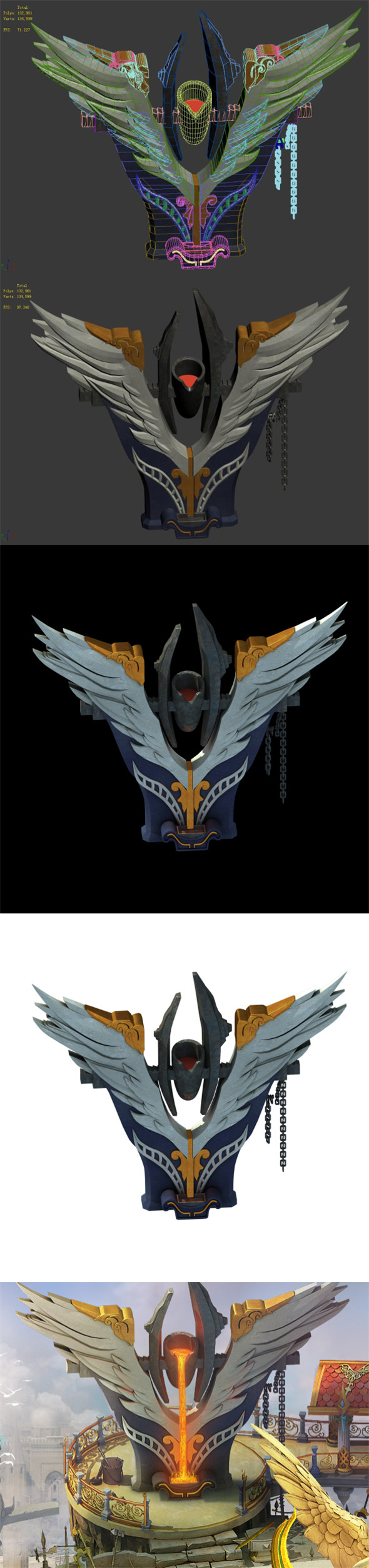 The Kingdom of God - Iron Wings - 3DOcean Item for Sale