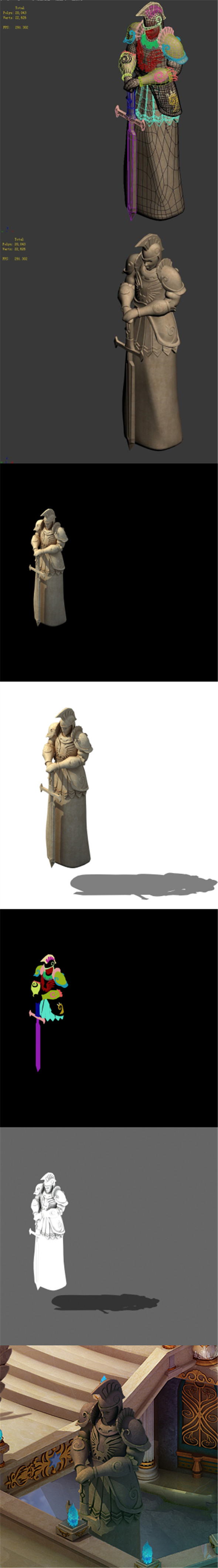 The Kingdom of God - the statue of the Romans - 3DOcean Item for Sale