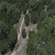 Mountain Biking Hill Trail Aerial - VideoHive Item for Sale