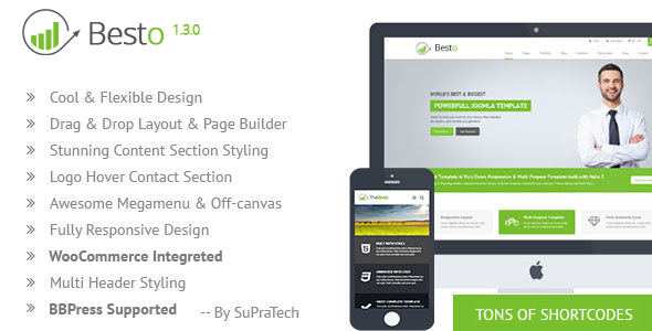 Besto - Corporate Responsive Multi Purpose WordPress Theme - Business Corporate