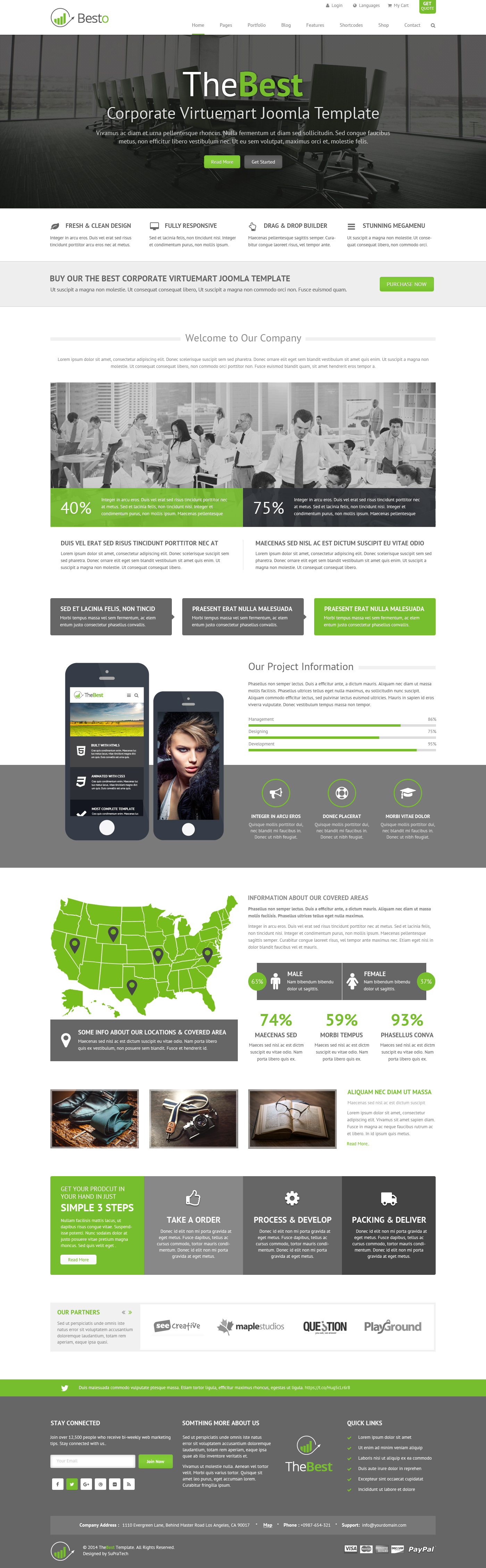 Besto - Corporate Responsive Multi Purpose WordPress Theme by SuPraTech