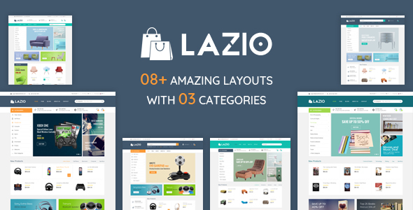 Image of Lazio - Multipurpose Responsive Prestashop 1.6 & 1.7 Theme