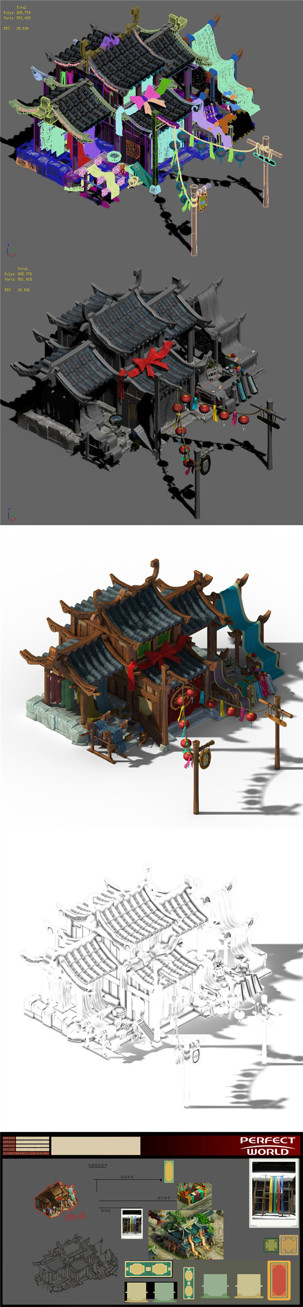 Xiangyang City - dyeing shop 01 - 3DOcean Item for Sale