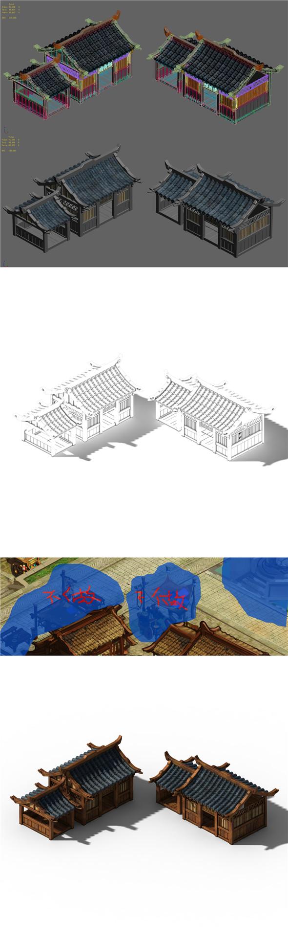 Xiangyang City - grocery room 02 - 3DOcean Item for Sale