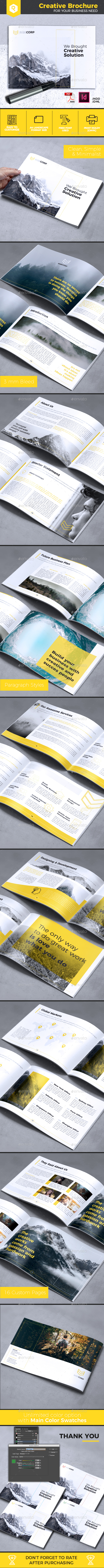 Creative Brochure Vol. 23 - A4 Landscape - Corporate Brochures