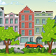 2D Game Background Walking Through the Park - GraphicRiver Item for Sale