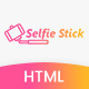 Selfie Stick Landing Page Html 5 Template - ThemeForest Item for Sale