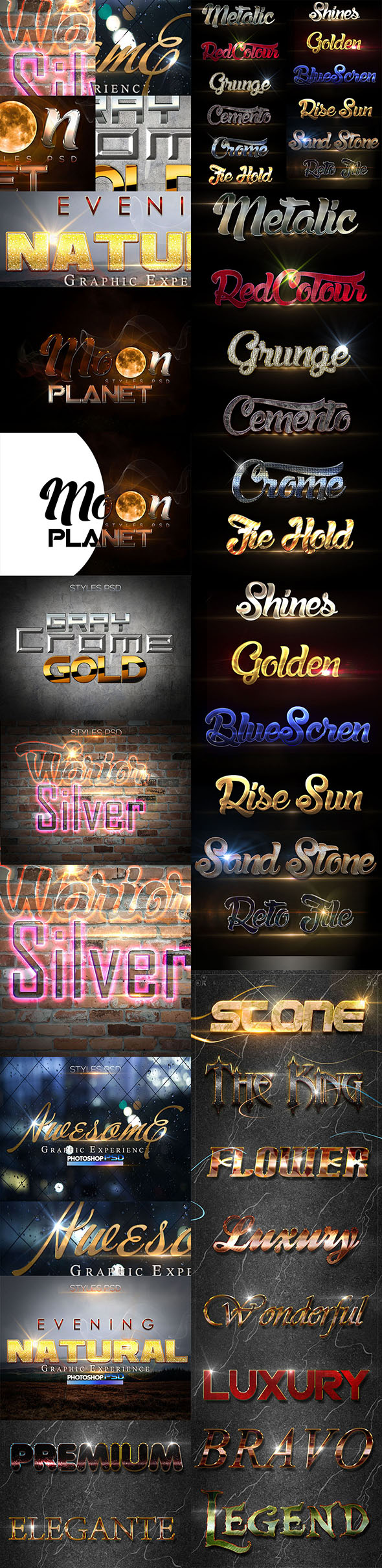 Bundle Style D170610 - Text Effects Styles