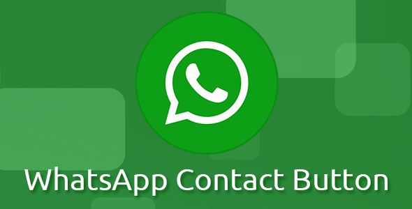 WhatsApp Contact Button (Chat) - CodeCanyon Item for Sale