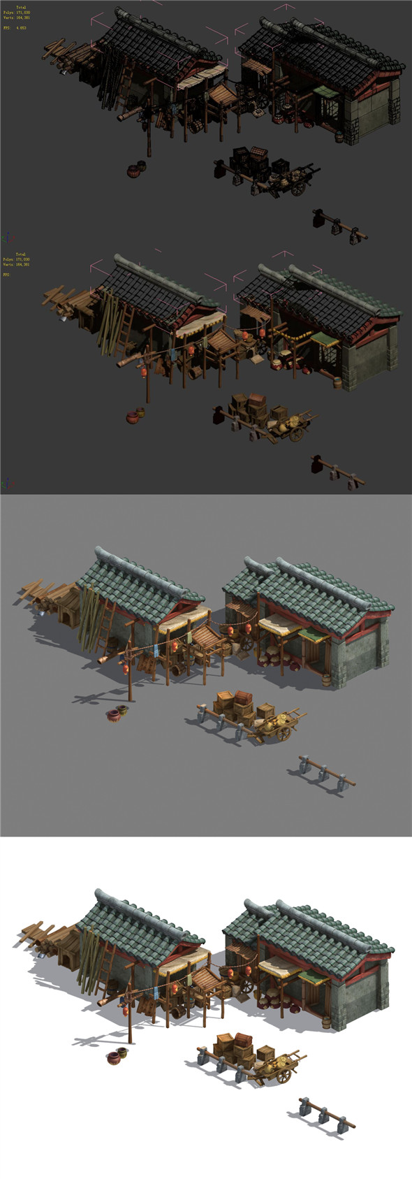 Xinshoucun - storage room - 3DOcean Item for Sale