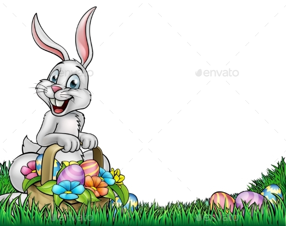 Easter Background - Backgrounds Decorative