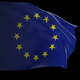 European Community Flag with Loop - VideoHive Item for Sale