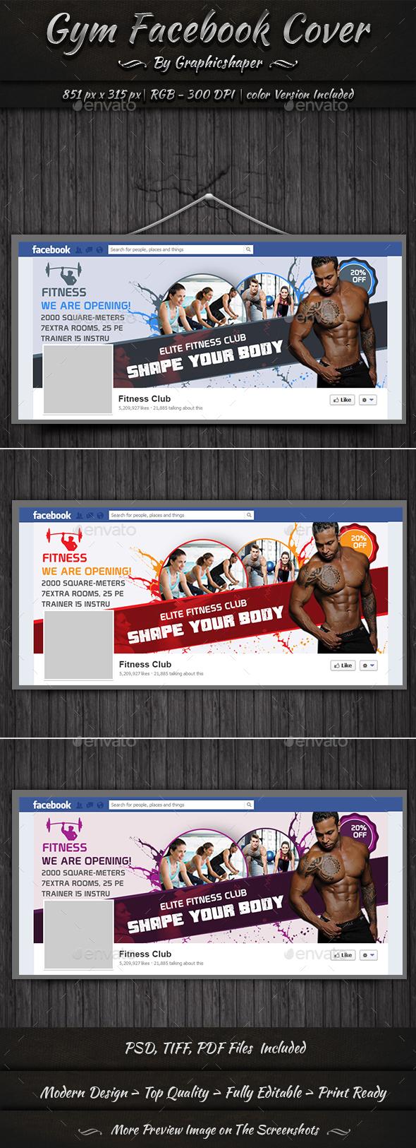 Gym Facebook Timeline Cover - Facebook Timeline Covers Social Media