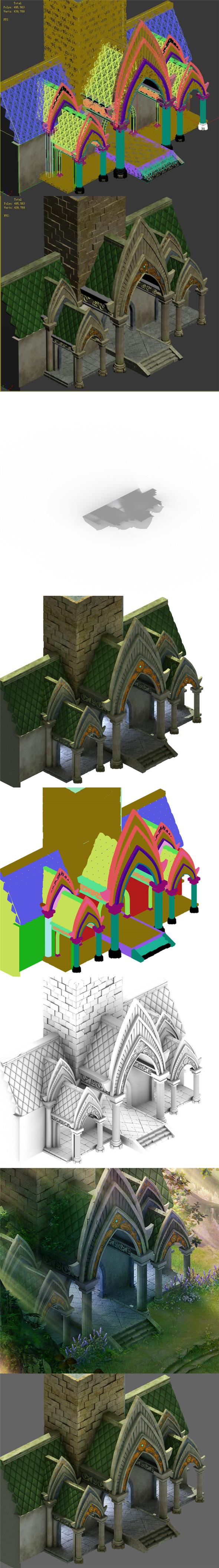 Fairy town - house - 3DOcean Item for Sale