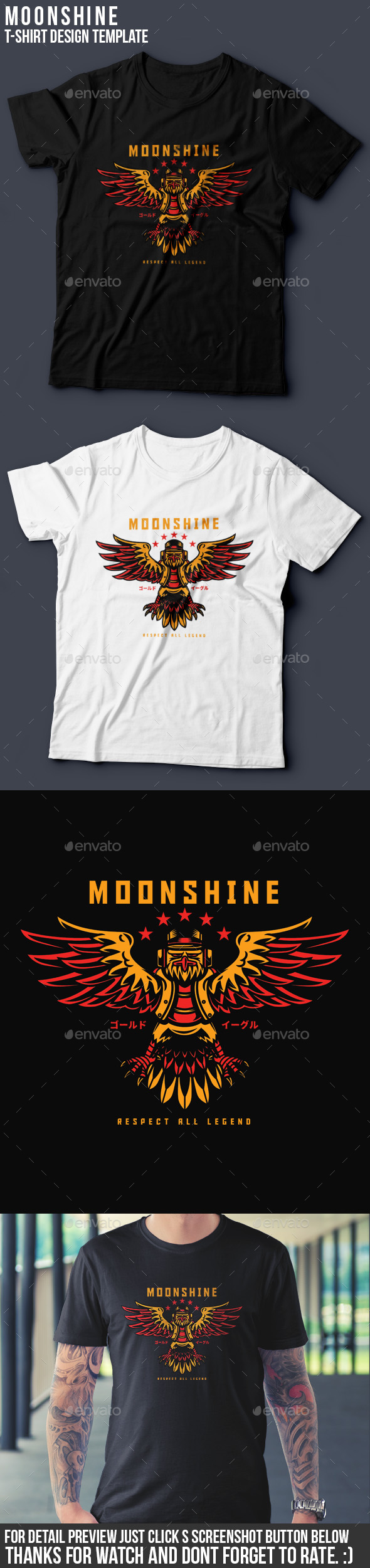 Moonshine T-Shirt Design - Clean Designs