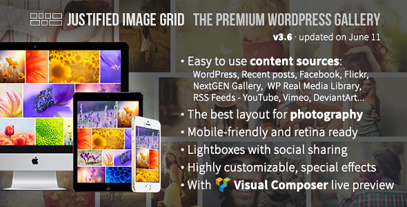Download Justified Image Grid - Premium WordPress Gallery nulled version