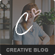 Charlotte - Creative Blog WordPress Theme Nulled