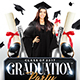 Graduation Party Flyer Template - GraphicRiver Item for Sale
