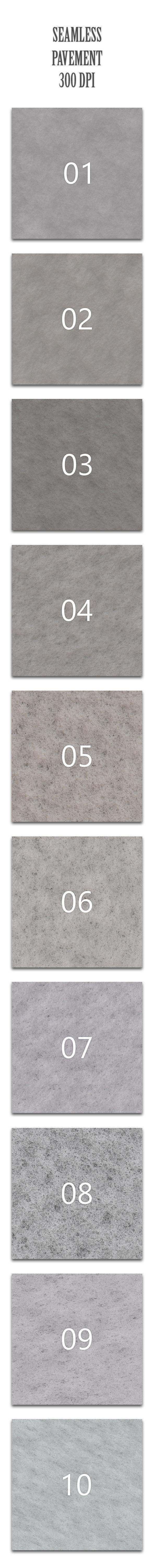 Seamless Pavement - Textures / Fills / Patterns Photoshop