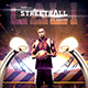 Streetball Flyer Template - Playground Basketball Poster v6 - GraphicRiver Item for Sale
