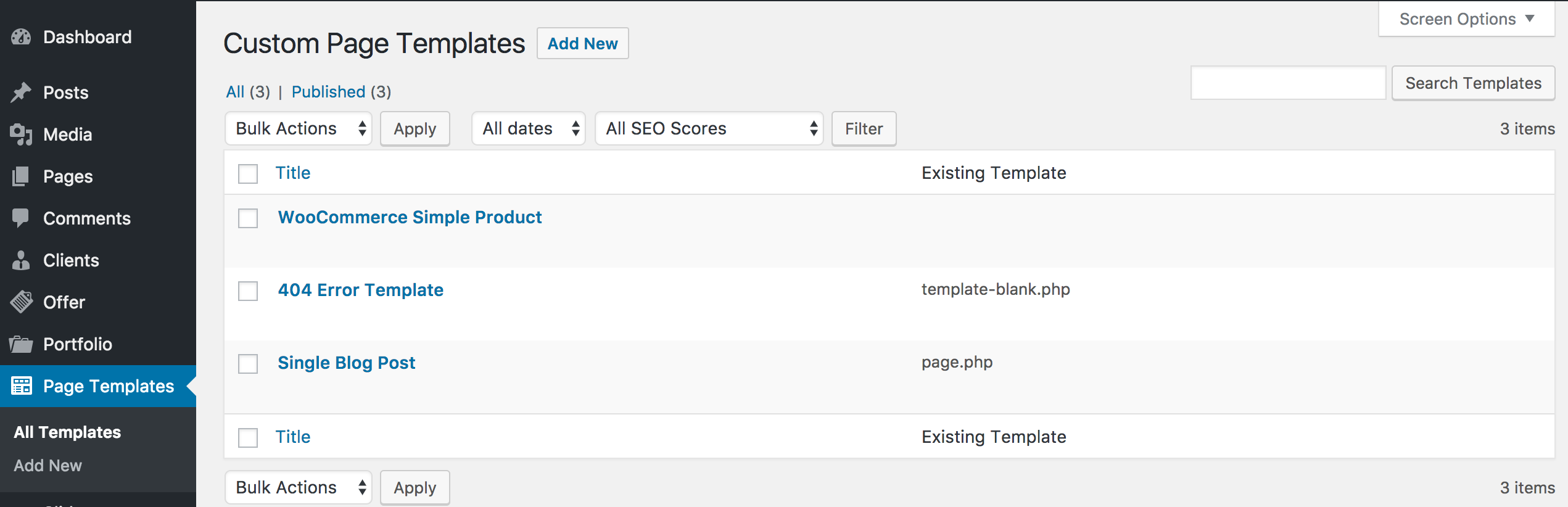 Custom Page Templates: New Way of Creating Custom Templates in ...