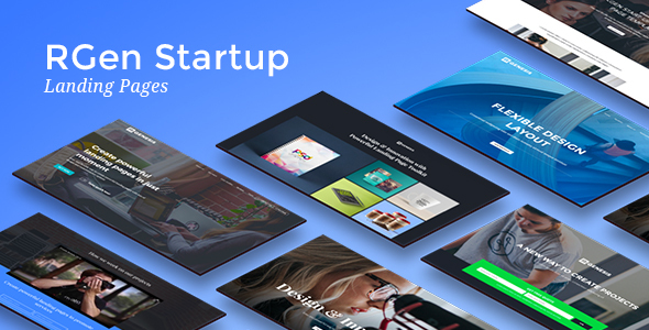 RGen Startup Landing Pages - Landing Pages Marketing