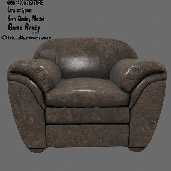 Armchair 13 - 3DOcean Item for Sale