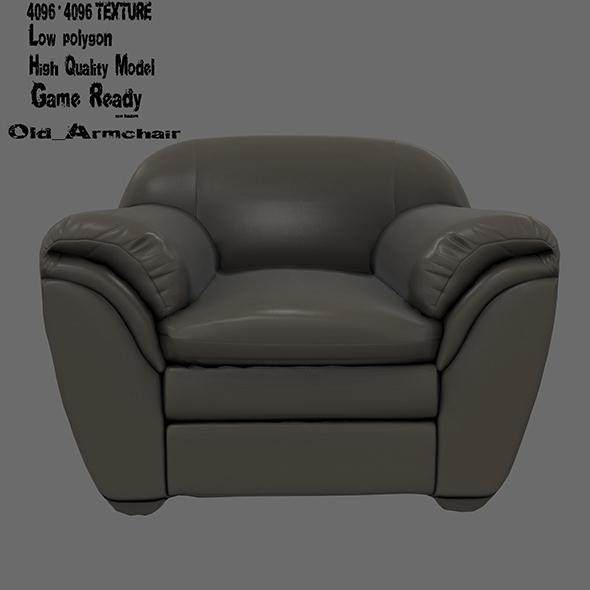 Armchair  14 - 3DOcean Item for Sale